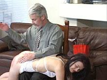First outfit - first spanking
