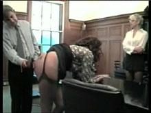 Spanking Videos - A Paddling for Miss Taylor