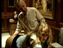 Being spanked turns her on