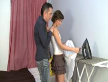 Spanking Videos - Is his shirt ironed yet?