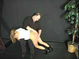 Her spanking ordeal is not over 