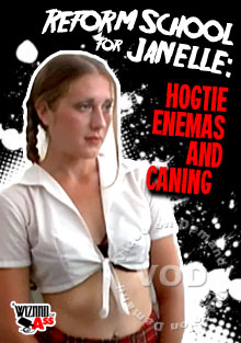 Reform School For Janelle - Hogtie Enemas And Caning