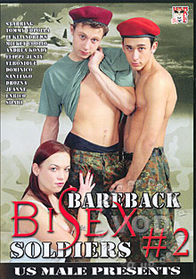 Bareback Bisex Soldiers #2 Box Cover