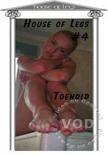 House Of Legs #4 - Toehold Box Cover