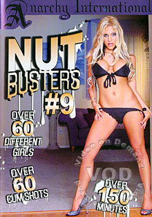 Nut Busters #9 Box Cover