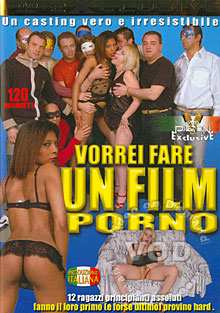 Vorrei Fare Un Film Porno Box Cover