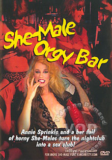 She-male Orgy Bar