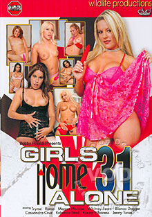 Girls Home Alone 31 Box Cover