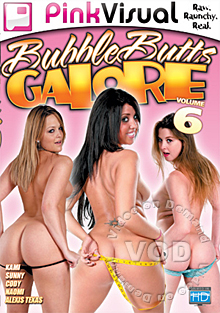 Bubble Butts Galore Volume 6 Box Cover