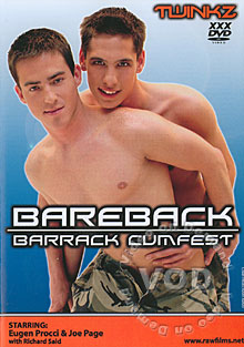 Bareback Barrack Cumfest Box Cover - Login to see Back