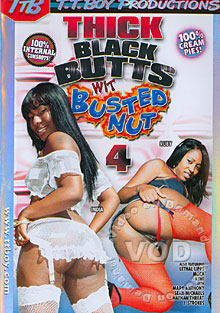 Thick Black Butts WIt Busted Nut 4 Box Cover