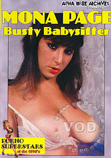 Mona Page - Busty Babysitter Box Cover