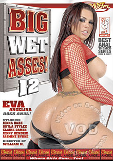 Big Wet Asses! 12 Box Cover - Login to see Back