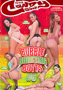 Bubble Bursting Butts #5 Box Cover