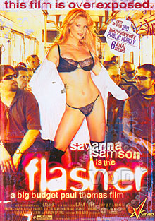 Savanna Samson Is The Flasher Box Cover