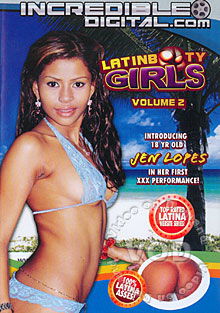 Latin Booty Girls Volume 2 Box Cover