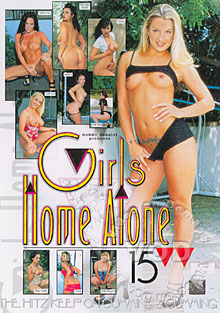 Girls Home Alone 15 Box Cover