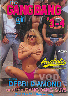 The Gangbang Girl #3 - 4 Box Cover