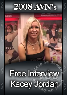 2008 AVN Interview - Kacey Jordan Box Cover