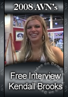 2008 AVN Interview - Kendall Brooks Box Cover