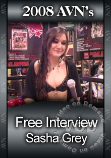 2008 AVN Interview - Sasha Grey Box Cover