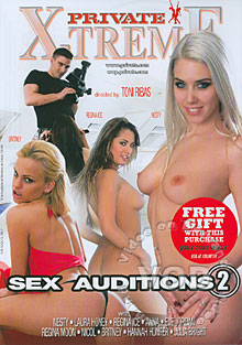 Sex Auditions 2 Box Cover