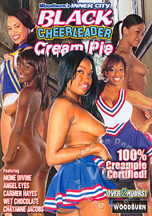 Inner City Black Cheerleader Cream Pie