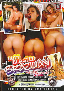 Butt Blasted Brazilian Babes Volume 1 Box Cover