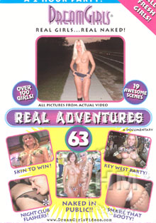 Real Adventures 63 Box Cover