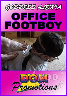 Goddess Alexia - Office Footboy Box Cover