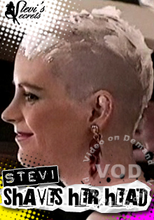 Stevi Shaves Her Head Box Cover