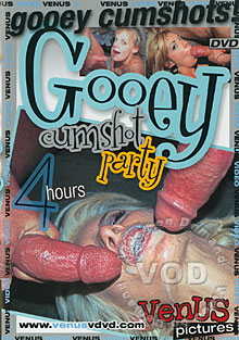Gooey Cumshot Party Box Cover