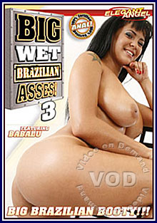 Big Wet Brazilian Asses 3 Box Cover