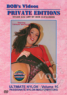 Ultimate Nylon Volume 16 - Passionate Nylon Masturbators Box Cover