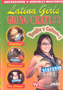Latina Girls Going Crazy #3 Box Cover