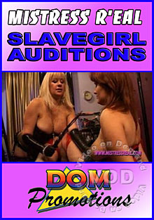 Mistress Real - Slavegirl Auditions Box Cover