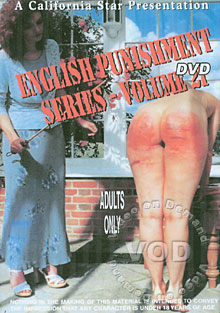 English Punishment Series Volume 21 Box Cover