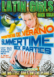 Latin Girls Gone Wild - Summertime Sex Parties Box Cover