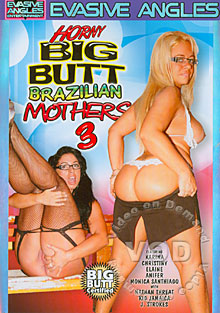 Horny Big Butt Brazilian Mothers 3 Box Cover