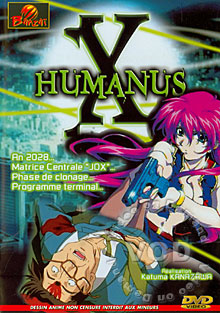 Humanus X Box Cover