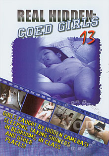 Real Hidden Coed Girls 13 Box Cover