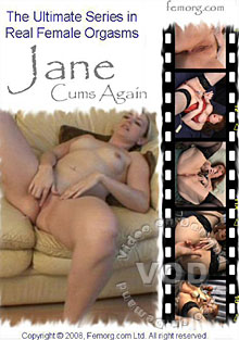 Jane Cums Again Box Cover