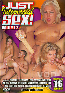 Just Interracial Sex! Volume 2 Box Cover