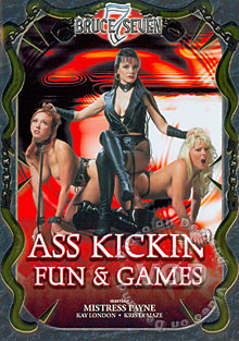 Ass Kickin' Fun & Games Box Cover