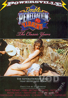 Double Penetration Virgins - The Classic Years Box Cover