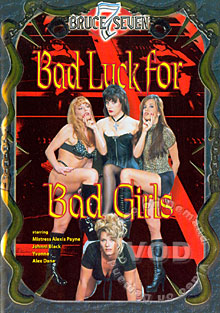 Bad Luck For Bad Girls Box Cover