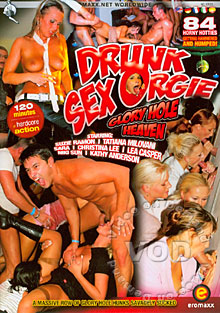 Drunk Sex Orgy - Glory Hole Heaven Box Cover