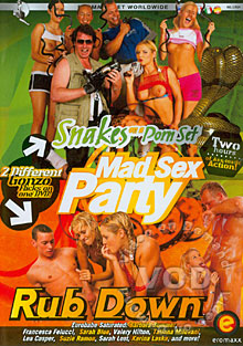 Mad Sex Party - Snakes On A Porn Set Box Cover