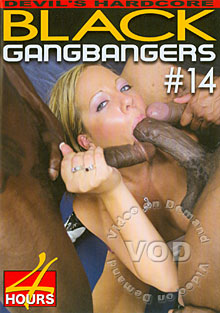 Black Gangbangers #14 Box Cover