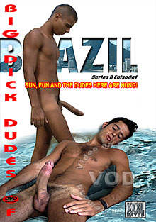 Big Dick Dudes Of Brazil: Series 3 Episode 1 Box Cover